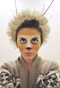 Costume Makeup : Fawn Halloween costume with hunter?