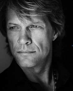 Jon Bon Jovi - He always looks so deep in thought.