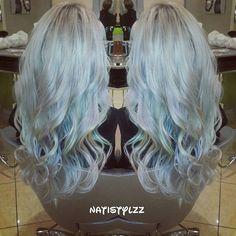 Follow me @natistylzz  opalhair #torontohairstylist #mermaidhair #cooltones #hairstyle #underlights #peekaboos #pravana #pravanapastels #haircolor #colorist #hairporn #hairbyme #opal #pastelhair #iamlorealpro #lpfamily #haironfleek #nofilter