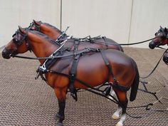 Collar Team Harness -Model Horse Tack by Ben's Custom Tack