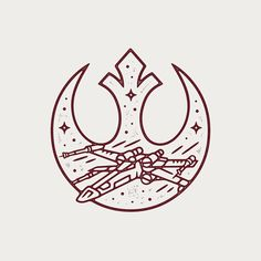 Rebell - Rebels Star Wars - Ideas of Rebels Star Wars - Rebell Rebellen Tattoo, Arrow Tattoo, Tattoo Flash, Star Wars Rebellen, Star Wars Gifts, Star Wars Logos, Star Wars Tattoo, Blackwork, Star Wars Painting