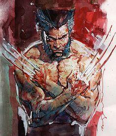 astonishingx: Wolverine by Bill Sienkiewicz