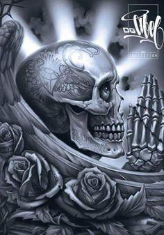 OG Abel praying skull Creative Boys Club » we love skulls www.creativeboysclub.com/tags/we-love-skulls