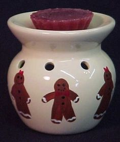 Gingerbread Man Country Tart Burner by LisasCraftiques on Etsy, $12.50