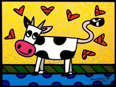 Romero Britto Creation Art, Zombie Art, Graffiti Painting, Pop Art Design, Arte Pop, Art Plastique, Funny Art, Elementary Art, Easy Drawings