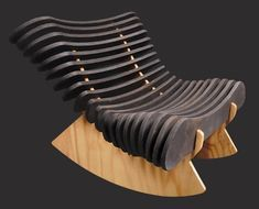 Rib Rocker in Plywood w/ Black Lacquer by Shiner Shiner International http://www.amazon.com/dp/B00B2YV9Y4/ref=cm_sw_r_pi_dp_Xdymub1CXRJZE