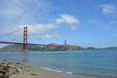 Vu sur le Golden Gate Bridge. San Francisco, États-Unis Road Trip San Francisco