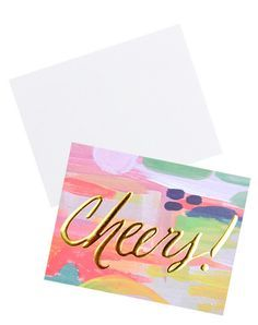Image result for dip dye greeting cards