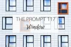 The Prompt 117: Window