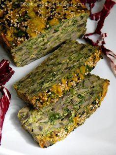 DROB DE CIUPERCI | Raw Vegan Recipes, Vegan Foods, Vegetarian Recipes, Cooking Recipes, Healthy Recipes, Mushroom Recipes, Vegetable Recipes, Sports Food, Romanian Food