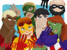 Young justice season 3 #renewyoungjustice