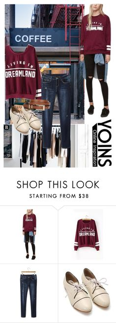 """Untitled #75"" by elmaa02104 ❤ liked on Polyvore featuring Coffee Shop, women's clothing, women, female, woman, misses, juniors and yoins"