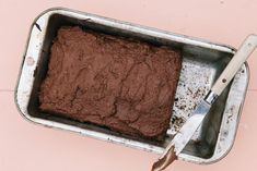 Gluten-Free Vegan Zucchini Bread With Chocolate Sweet Potato Frosting - mindbodygreen