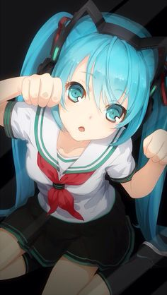 Characters trapped inside your smartphone-Hatsune Miku