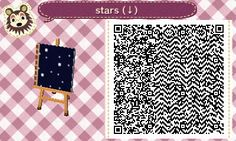 "foxyphantom: "" ~STARRY ACNL PATH~ The first path I've ever tried to make! I had an idea of making a spacey-themed town and walking on a night sky between locations just seemed like a really cool idea. It's simple, but here it is for anyone wanting to..."