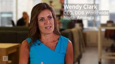 Wendy Clark, CEO of DDB North America, opens up on the importance of owning it, never being above doing anything and how she successfully integrates her life with her work