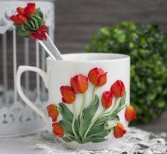 декор кружки полимерной глиной: 14 тыс изображений найдено в Яндекс.Картинках