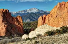 Ascend more than 14,000 feet on the Pikes Peak Cog Railway for views that inspired Katharine Lee Bat... - Images by Dr. Alan Lipkin/shutterstock