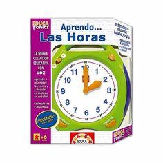 Aprendo las horas en inglés