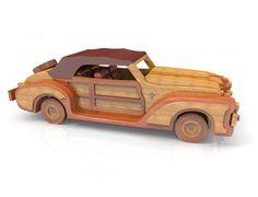 Chrysler Plymouth by Lloydswoodtoyplans on Etsy