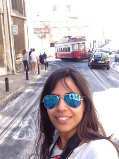 enchanted with this city trams! Lisboa