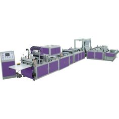 3 dimensional non woven bag making machine makes 3 dimensional box type bags used for commercial utility and branding purposes