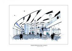 2014 한양대미래자동차연구센터 로비