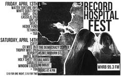 Record Hospital Fest at The Democracy Center 4/13-14