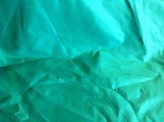 Turquoise Green Soft Taffeta Fabric  30 inches wide   1 yard