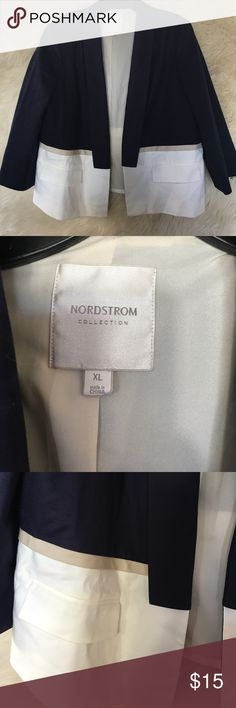 Nordstrom \\\ (Get the Style) Plus Size Blazer Used once Nordstrom Jackets & Coats Blazers