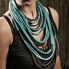 Cotton necklace