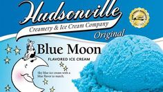 Blue Moon Ice Cream Recipe - another brand says lemon and raspberry flavors are included, so I'm not certain on this recipe... but pinning it anyway!!