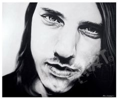 Chuck Schuldiner by Chaosart