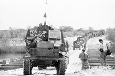 Soldiers of the battalion of the defence force of South Africa armored vehicles returning from Angola. Defence Force, Armored Vehicles, War Machine, Military History, Photojournalism, Military Vehicles, South Africa, Monster Trucks, Army