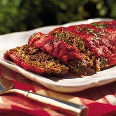 Old-fashioned Meatloaf | MyRecipes.com