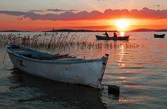 Gölyazıda Günbatımı