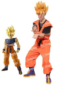Anime New Hot Sell Dragon Ball Z Goku Cosplay Halloween Party Costume With Kame Letter