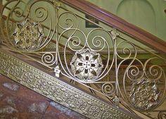 Louis Sullivan Stair Ornament
