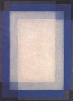 Arcangelo Ianelli, Retângulos em azul, 1976