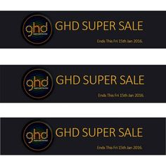 Check out our GHD SUPER SALE. Ends this Friday 15th.