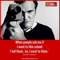 March 1963 - Quentin Tarantino an American film director and screenwriter is born in Knoxville, Tennessee, Cult Movies, Indie Movies, Movies To Watch, Good Movies, Drama Movies, Filmmaking Quotes, Documentary Filmmaking, Quentin Tarantino Quotes, Super 8