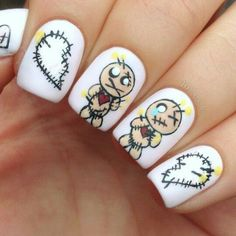 Cool Nailart Ideas For You To Have Trendy Nails This Halloween