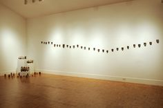 Mari Andrews. Collected Topography installed at Montalvo Art Center Project Gallery, 2011 Jars of soil included in this exhibition.
