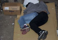 Homeless in Downtown Fort William