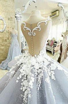 LOVE! pulchritudinous wedding dresses designer cinderella blush gown 2016 - 2017