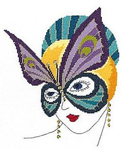 Vanessa Cross Stitch Kit by Heather Anne Designs for Classic Embroidery