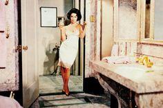 Elizabeth Taylor - Maggie the cat