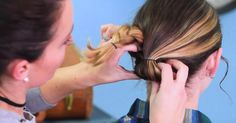 This Easy Braid Updo Will Make Any Look Polished And Elegant! via LittleThings.com
