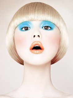 Babyart - Fotos von Model Zhang Xue - Make up Kunstblut Idee Bb Beauty, Beauty Make Up, Hair Beauty, Eye Makeup, Hair Makeup, Makeup Inspo, Makeup Inspiration, Pelo Editorial, Make Up Art