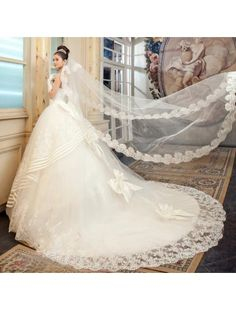 Wedding Dress. Maybe remove the bows and it's perfect!